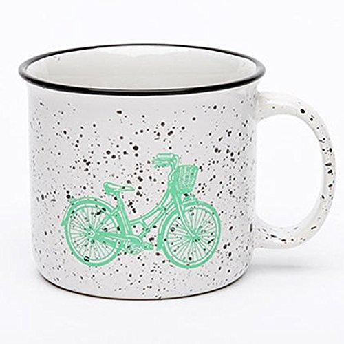 TIANLIANG04 Becher Kaffeetassen Keramik Becher_Imitation Emaille Tasse Große Vintage Becher,...