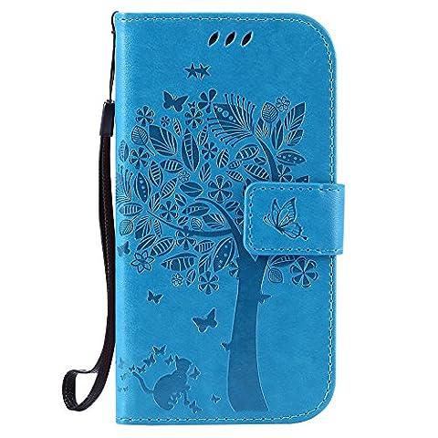 Nancen Wallet Case Tasche Hülle für Samsung Galaxy S3 I9300