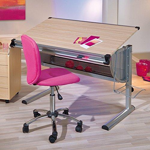 Links 50600450 Schreibtisch, Kinderschreibtisch Schülerschreibtisch höhen- und neigungsverstellbar, ahorn - 9