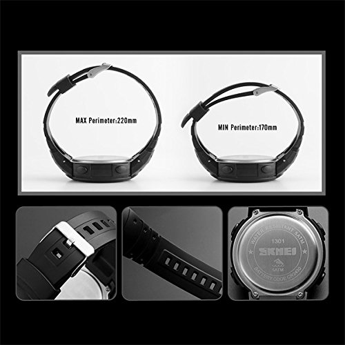 LONGQIWATCH Outdoor Bluetooth Pedometer Sport Mens Watch 50M Waterproof Fashion Multifunctional Smart Watch