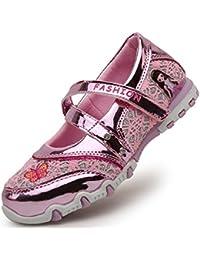 CCZZ Niñas Zapatos de Princesa Mary Jane Zapatos Escolares Antideslizante Sandalias de Vestir