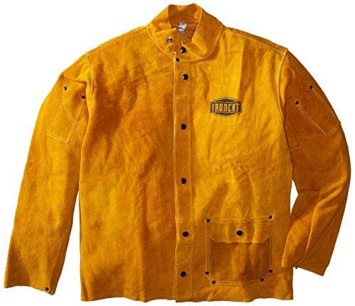 Ironcat 7005 Heat Resistant Leather Jacket