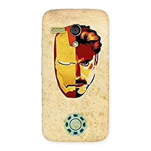 Cute Genius Pwer Back Case Cover for Moto G