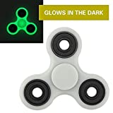 #5: Munchkin Land Multi Colur Fidget Spinner Focus Toy for Killing Time Stress Reducer Hand Spinners for Adults and Kids(Multi Colours) (Glow in Dark)