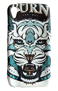 NSI Night Glow Soft Printed Back Cover / Back Case for HTC D826