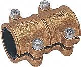 GEBO Dichtschelle aus Messing 15mm für Wasser PN 10 bis 90°C nach DIN 1786