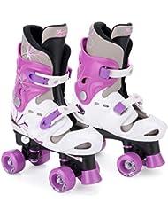 Pattini 4 ruote quad bambina Osprey, roller regolabili,  32-36