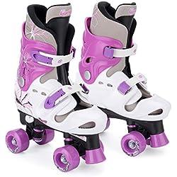 Patins à roulettes fille quad Osprey, Rollers quad réglables
