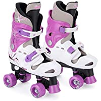 Osprey Quad Skates für Mädchen, Verstellbare Rollschuhe