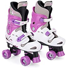 Osprey Quad - Patines ajustables para niñas, Púrpura, ...