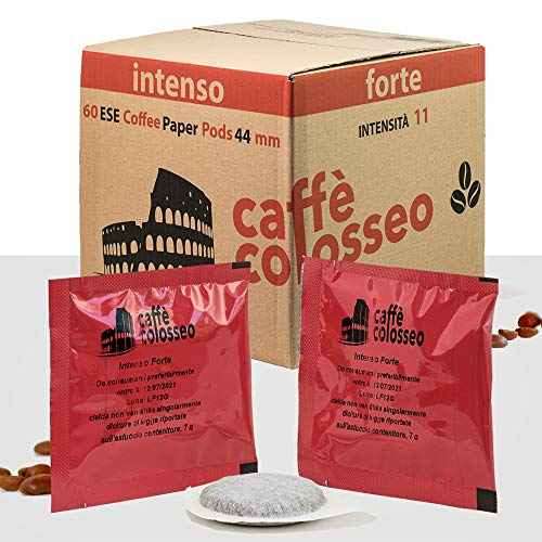 Caffè Colosseo 60 ESE Coffee Paper Pods 44mm (INTENSO)