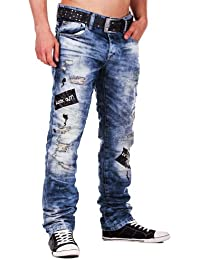 Redbridge by Cipo & Baxx Herren Jeans straight