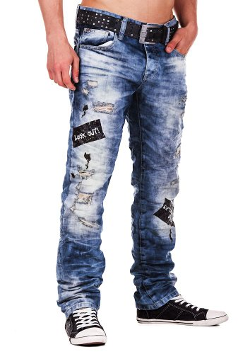 Redbridge by Cipo & Baxx Herren Jeans orderly 36/32