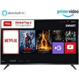 TCL 138.71 cm (55 inches) 4K Ultra HD Smart LED TV 55P65US (Black) (2019 Model) | Built-In Alexa