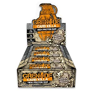 Grenade Carb Killa High Protein e Low Carb Bar, 12 x 60 g - Bianco Choc Mocha 15 spesavip