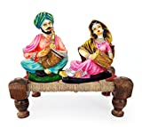 #10: TIED RIBBONS® Rajasthani couple showpiece   home decor items in hall   showpiece & Gifts