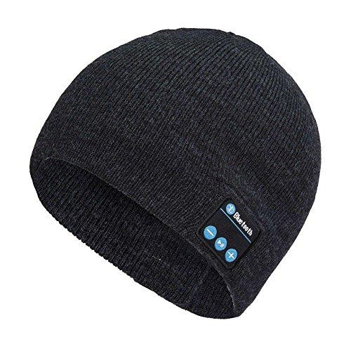 Preisvergleich Produktbild switty Bluetooth Beanie für Männer Frauen Wireless Knit Musik Gap Built in microphonechristmas Geschenk