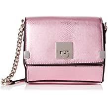 New Look - Secily, Bolsos bandolera Mujer, Pink (Light Pink), 4.5x14.5x17 cm (W x H L)