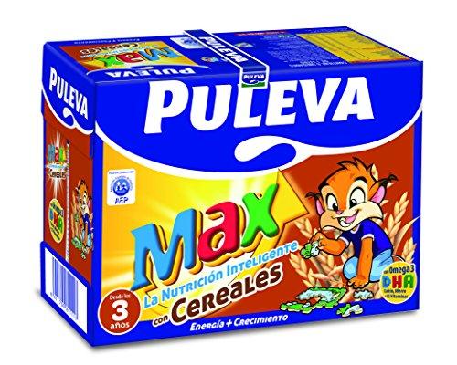 Puleva Max Leche Crecimiento y Desarrollo con Cereales - 6 x 1 L