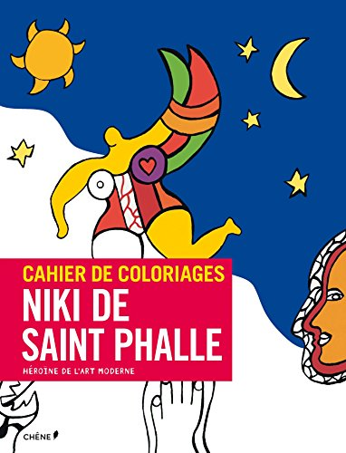 Cahier de coloriages Niki de Saint Phalle