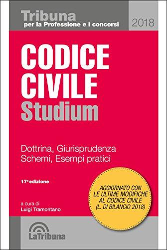 Codice civile Studium. Dottrina, giurisprudenza, schemi, esempi partici