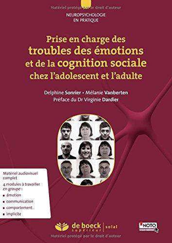 Prise en charge troubles émotions et de la cognition sociale ados adulte