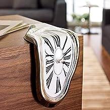 YTA Nuevos Surrealista Salvador Dali Estilo Reloj de Pared WCLT Novela Surrealista fusión distorsionada Reloj de