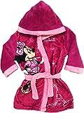 Mgs33 Peignoir Minnie Mouse Rose Fuschia pour Fille Age 7 Ans, Tout Doux, Superbe Couleur,Disney