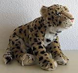 Liegender Leopard 44 cm, von Leosco, Plüschtier, Kuscheltier, Stofftier