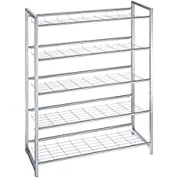 Haku Möbel 38728 Zapatero Aluminio 30 x 80 x 106 cm