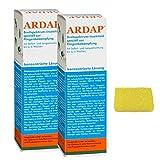 2 x 500 ml Ardap Ungezieferspray Konzentrat mit Langzeitwirkung+ Insektenschwamm
