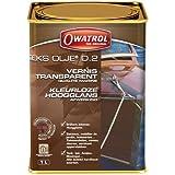 Owatrol - Deks Olje - D2-1,0 L - Vernis Marine - Incolore - Brillant intense - 841