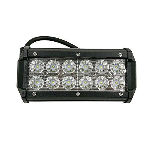 SAILUN® 36W LED Light Bar Auto Arbeitslicht Scheinwerfer CREE Spot Flood Combo Schwarz Wasserdicht für Offroad SUV ATV UTV Arbeitslampe Traktor Bagger LKW KFZ