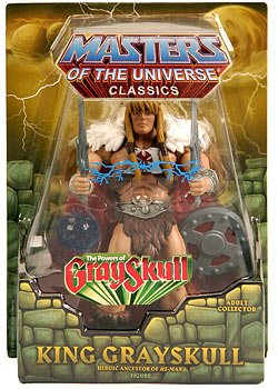 He-man Masters of the Universe Classics King Grayskull with ORB