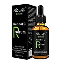 Retinol C facial serum whitening brightening moisturzing anti ageing spots removing essence 30ml