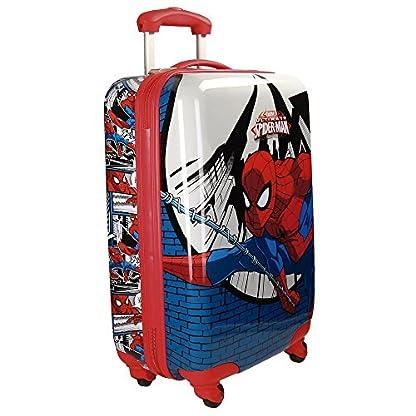 Spiderman Comic Equipaje Infantil, 55 cm, 35 Litros, Multicolor