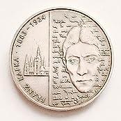 """DEUTSCHLAND / GERMANY / ALLEMANGE 10 EUROMÜNZEN GEDENKMÜNZEN """" 125 Jahre Geburtstag des Schriftstellers Franz Kafka """" 2008 - PRÄGESTÄTTE : G - ERHALTUNG : ST STEMPELGLANZ / BANKFRISCH - 925er SILBER"""