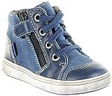 Richter Kinder Lauflerner blau Leder Jungen Schuhe 0941-541-6700 Pacific Jimmy, Farbe:blau, Größe:25