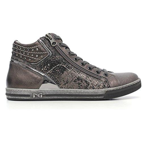 Sneakers Nero Giardini a616040d Stringate basse Donna Grigio autunno inverno 2017, EU 38