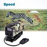 VBVA Schwarz LE-032 Jagd-Entfernungsmesser, Mini wasserdichter Multifunktions-Laser-Entfernungsmesser mit farbigem OLED-Display, 5 Betriebsarten Universelle Klemmhalterung für die Außenjagd