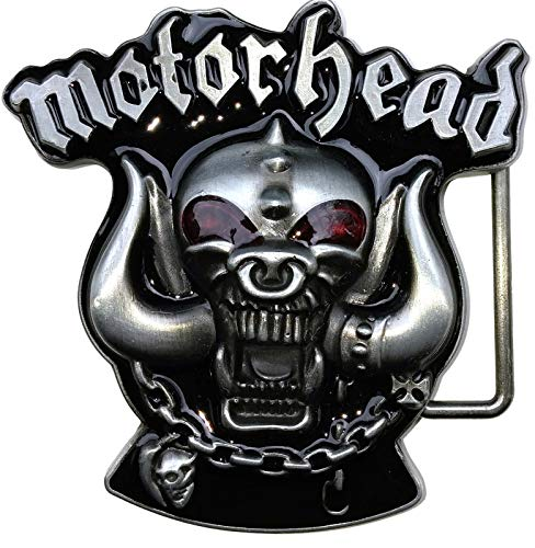 NN Buckle hebilla Motorhead metal warhead Lemmy
