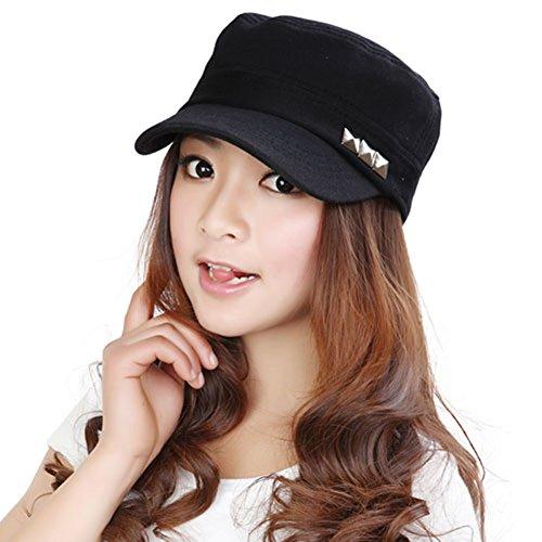 Du coréennes Cap/ chapeau plat surmonté/ ombre extérieure/Chapeau de soleil B