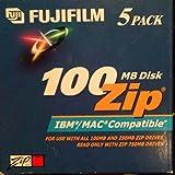 Fujifilm 5PK ZIP DATA CART 100MB-PC/MAC FMT ( 25275005 )