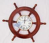 24 Nautical Ship Wheel & 6 Clock - Pirat...