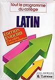 Latin - 4e-3e, tout le programme du collège