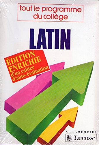 Latin : 4e-3e, tout le programme du collège