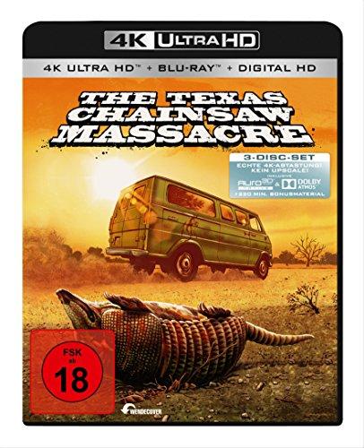 Texas Chainsaw Massacre (4K Ultra HD) (+ 2 Blu-rays) (+ Digital Copy)
