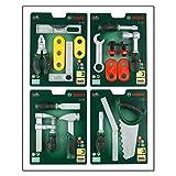 Theo Klein 8007 - Bosch Werkzeugkarte