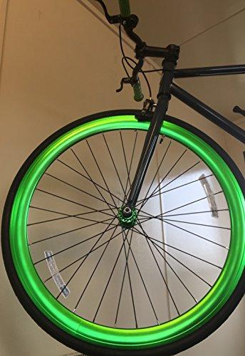 Vilano Rampage Fixed Gear Fixie Single Speed Road Bike(Grey/Green, 54cm)