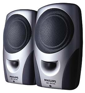 Philips SBC BA 160 Enceintes PC / Stations MP3 RMS 4 W